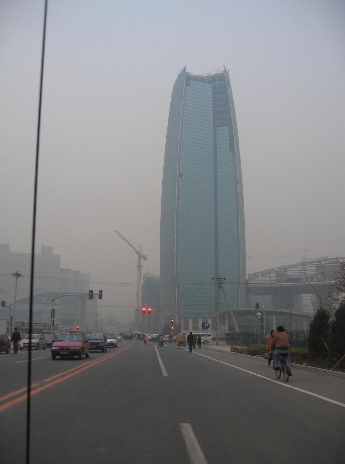 Air Pollution China - Zhongguancun Area, near Beijing University