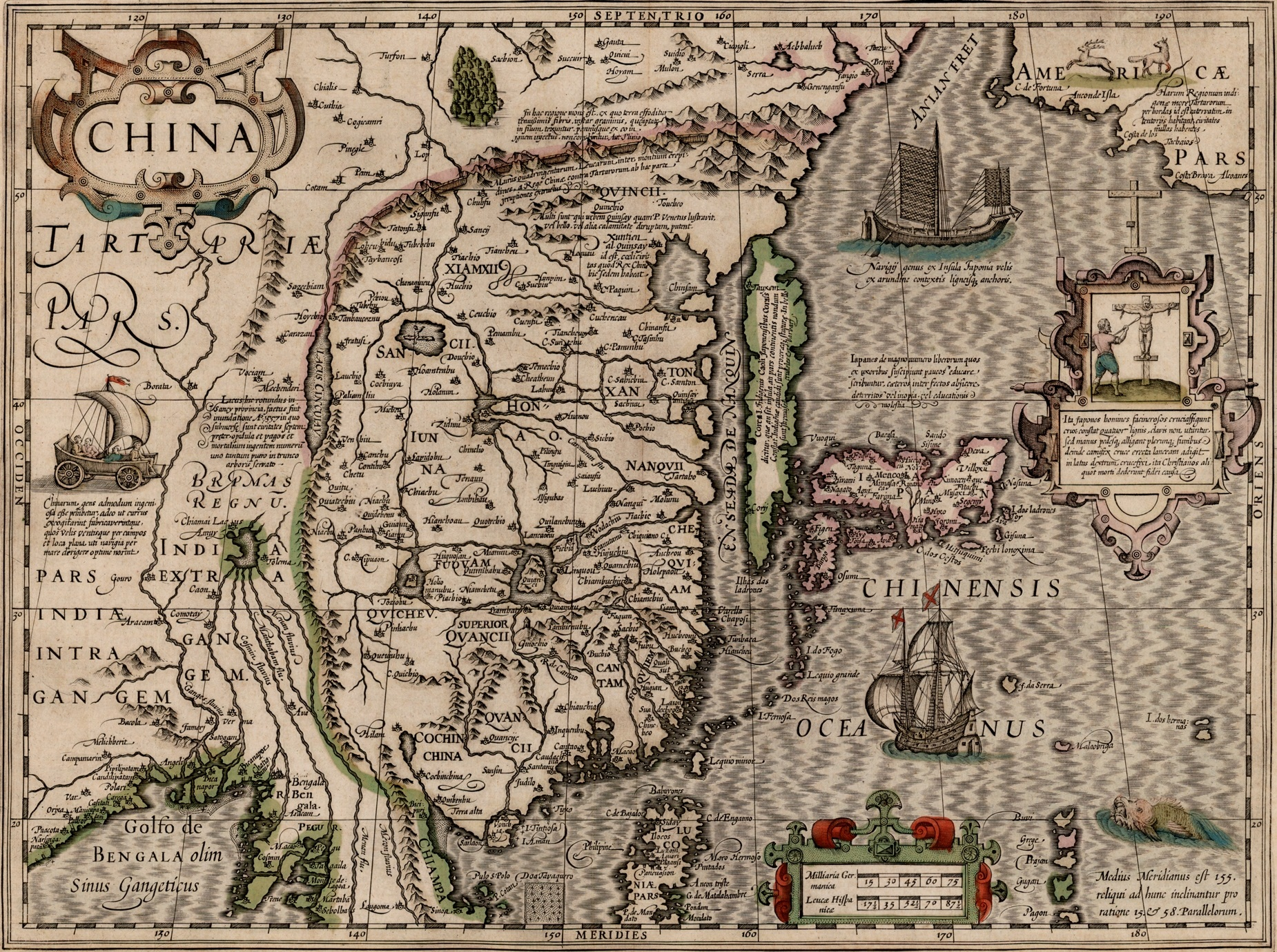 Photo of Jodocus Hondius, map titled China (ca. 1606)